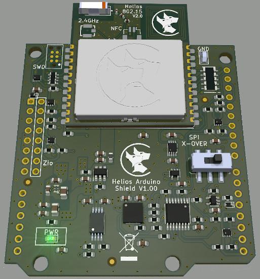 Helios Arduino shield