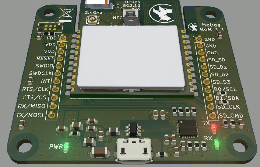 Helios Break-out Board